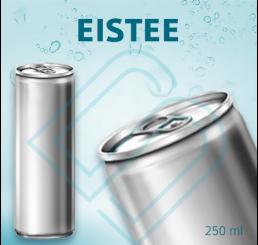 EISTEE (pfandfrei) – Blankodosen 250 ml