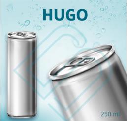HUGO (ohne Pfand) – Blankodosen 250 ml