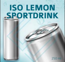 ISO LEMON SPORTDRINK (ohne Pfand) – Blankodosen 250 ml