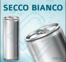 SECCO BIANCO (ohne Pfand) – Blankodosen 250 ml