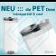 BIER (Einwegpfand) – PET Blankodosen 250 ml