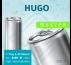 MUSTER 24 x HUGO (ohne Pfand) – Blankodosen 200 ml