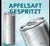 APFELSAFT GESPRITZT (ohne Pfand) – Blankodosen 250 ml