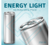 ENERGY LIGHT mit Molke (ohne Pfand) – Blankodosen 250 ml