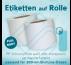 Rollenetiketten weiße oder transparente Folie für 200-ml-Dosen FullBody