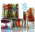 Rollenetiketten für 250-ml-Dosen FullBody SILBER- oder GLITZERFOLIE