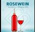 Blanko-Flaschen Rosewein 0,75 Liter